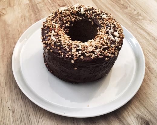 Nusskuchen Schokolade